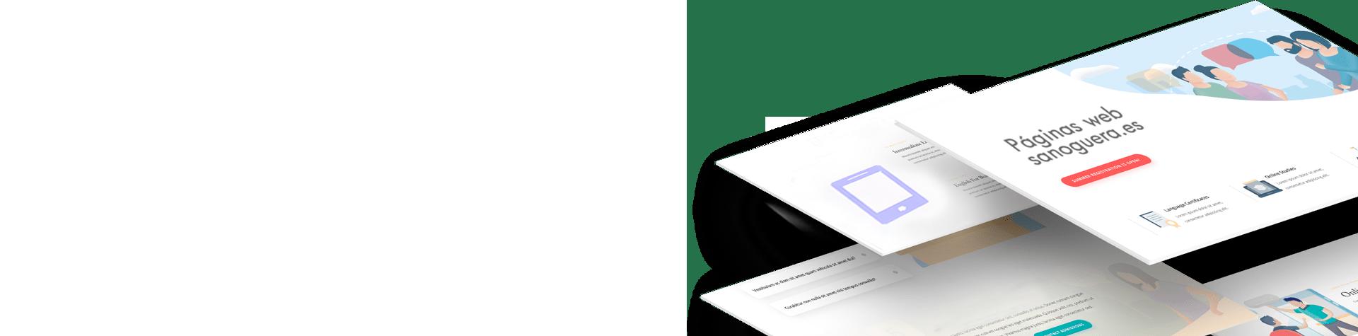 webs empresas Sanoguera