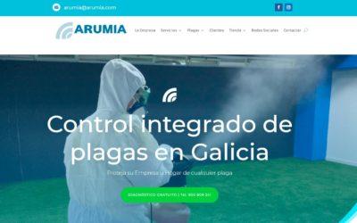 Arumia, Nuevo Diseño web y Tienda Online