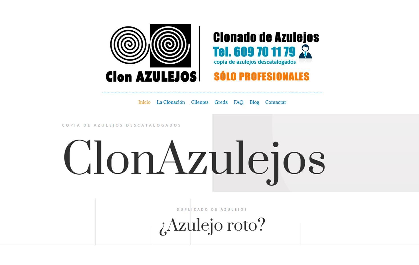 Clon Azulejos