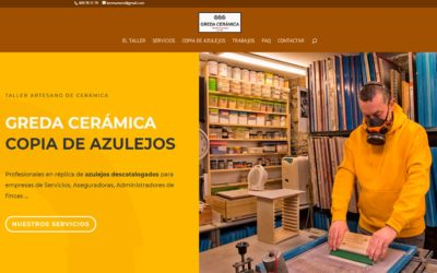 Greda Cerámica, Restyling de Página web