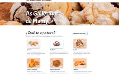 As Galletiñas de Mamy, creación de Tienda Online