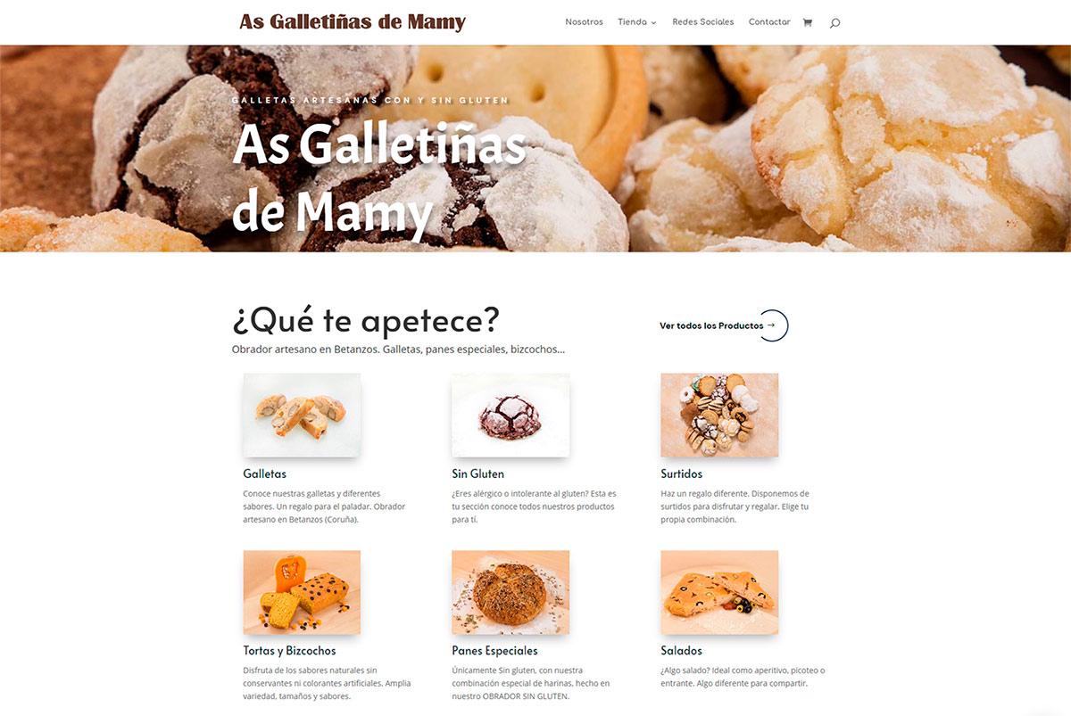 As galletiñas de mamy, tienda online