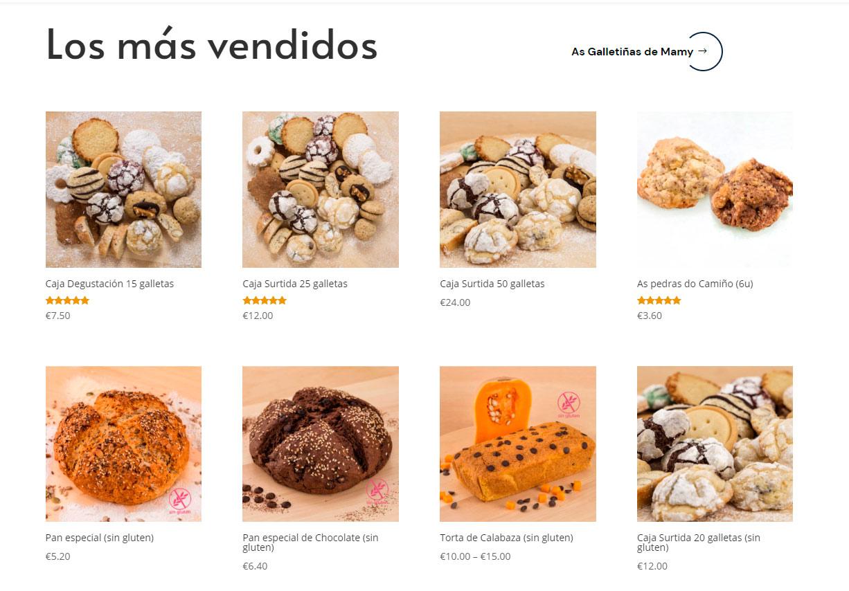 E-commerce as galletiñas de Mamy