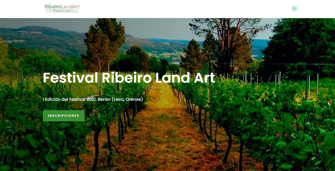 Festival Ribeiro Land Art