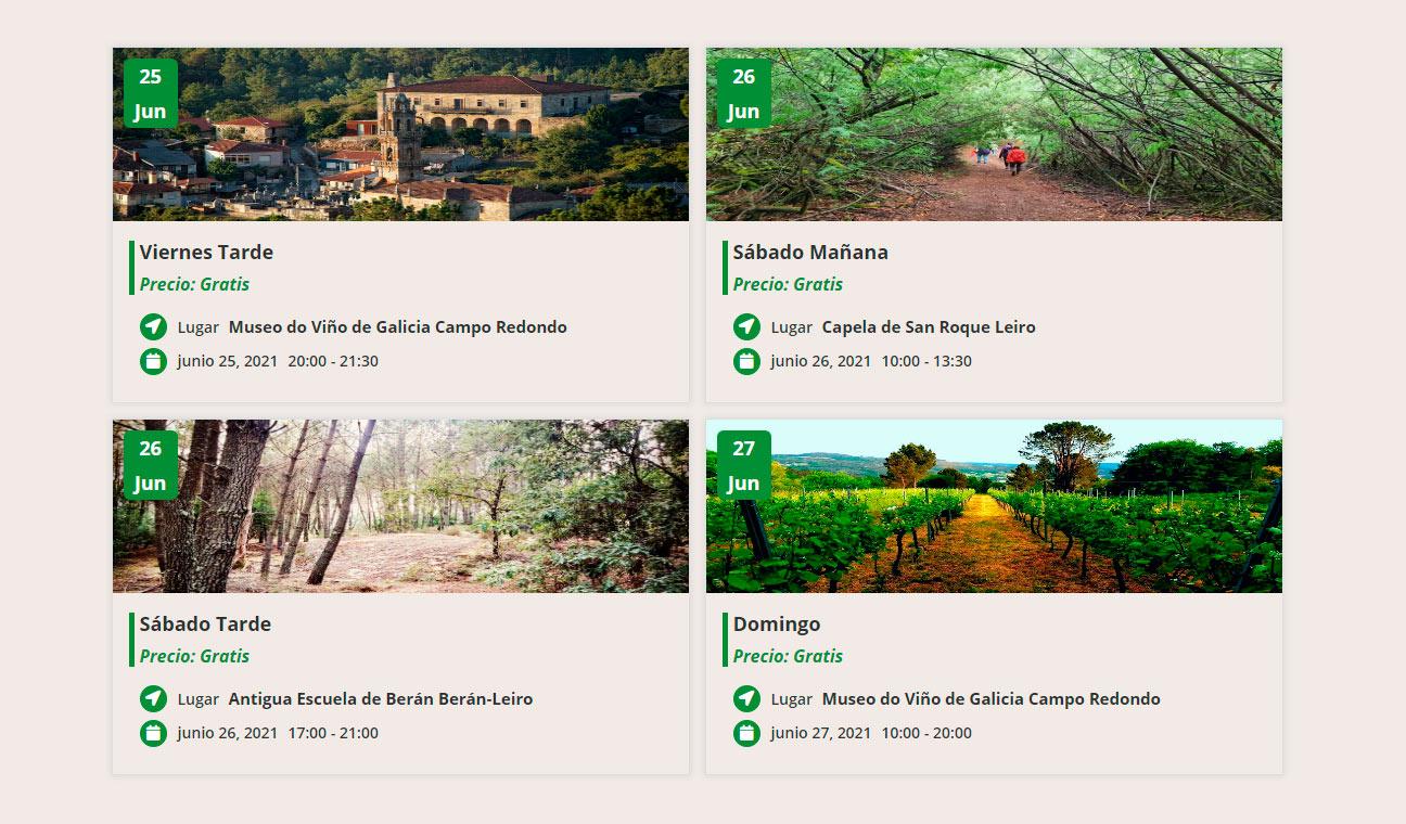 Agenda Festival Ribeiro Land Art