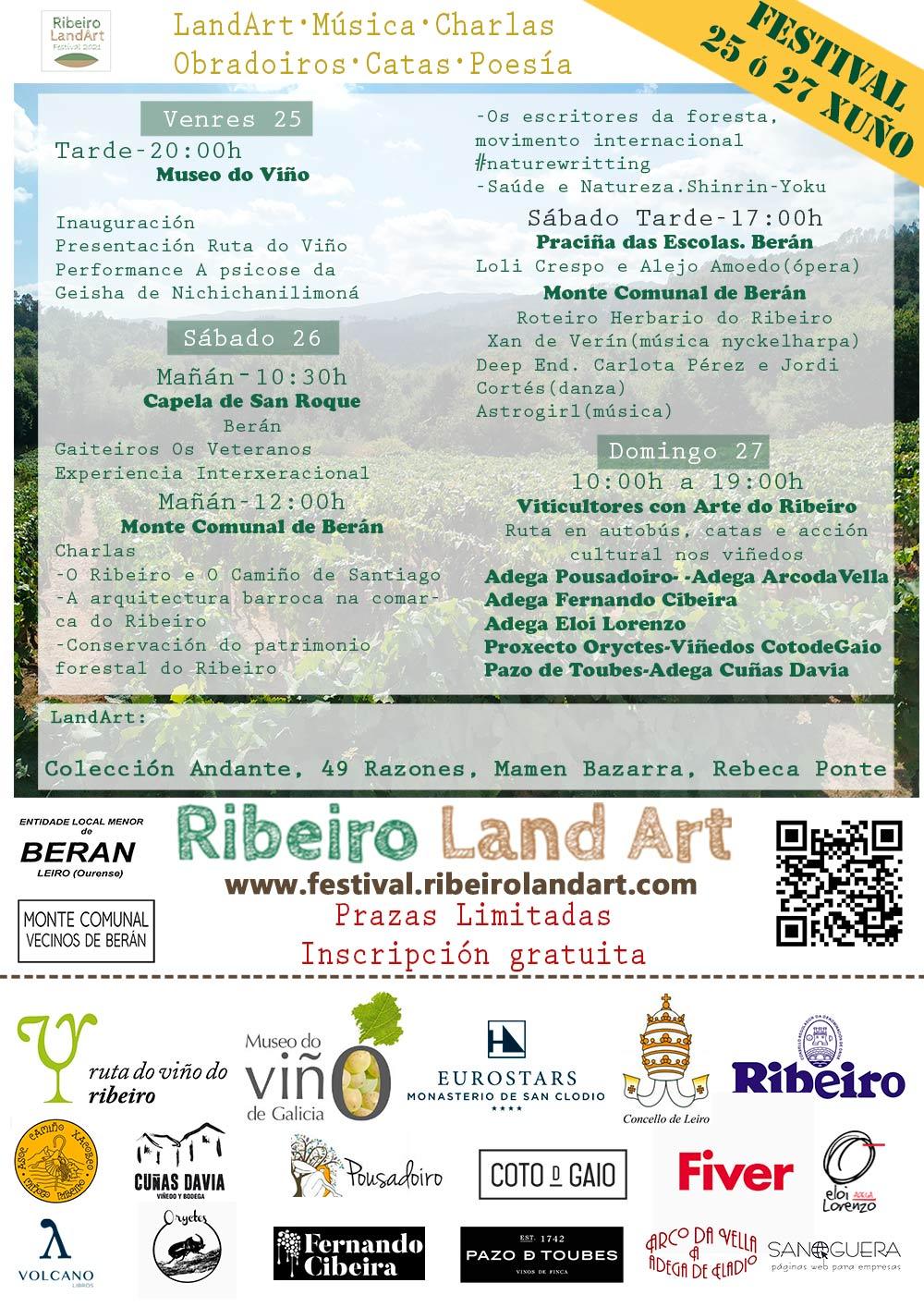 Programa Festival Ribeiro Land Art