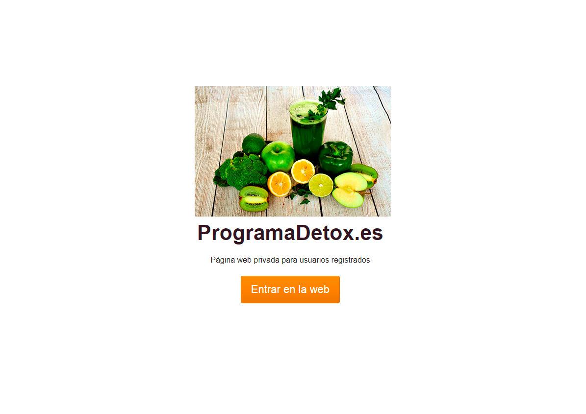 Programa Détox