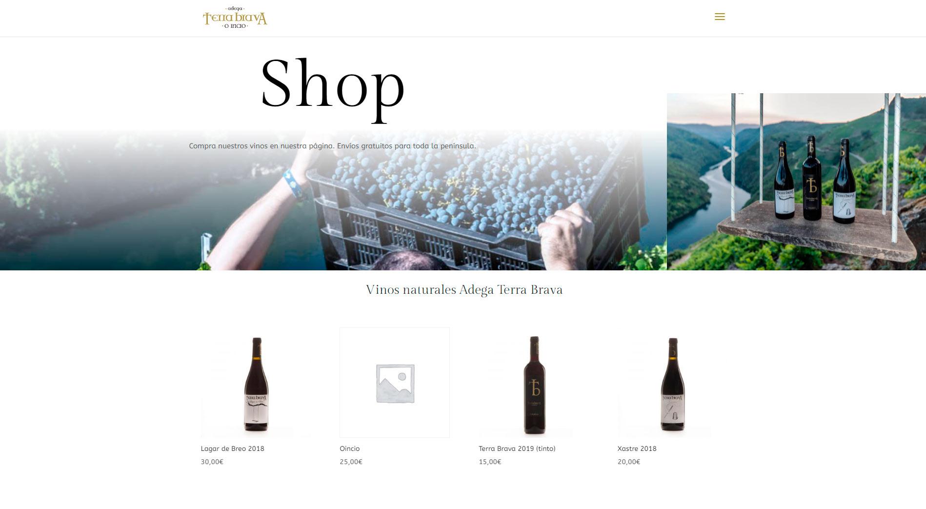 shop Adega Terra Brava
